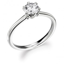 18ct White Gold 0.75 Carat Diamond Ring (G colour, VS1 Clarity)