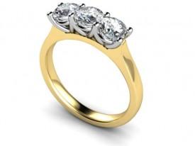 18 Carat Diamond three stone