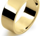 9 Carat Heavy 7/8mm Flat Wedding Ring…