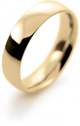 9 Carat Rose Gold 4/5/6/7mm Court Wedding Ring
