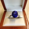 Platinum AA+ Quality Tanzanite and Diamond Ring £18,000